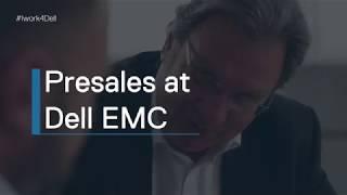 Presales at Dell EMC EMEA