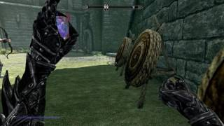 Skyrim Unlimited Daedric Arrows without having to use materials
