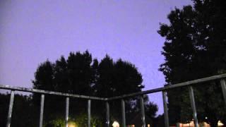 Second Lightning Strike 832PM 08 26 2014