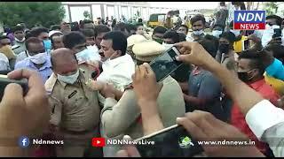 ఇళ్ళు ఇవ్వమని అడిగితే అరెస్ట్ చేస్తారా .. - NDN News