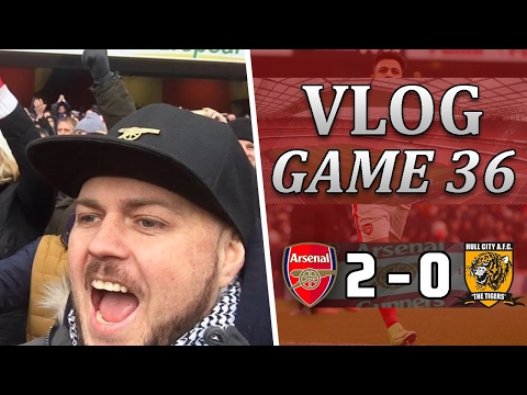 Arsenal 2 v 0 Hull City | Sh*t Performance But We Got The 3 Points | Matchday Vlog | Game 36