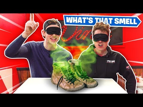 WHAT'S THAT SMELL CHALLENGE!