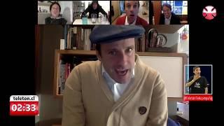 Modo cuarentena: la rutina de Kramer en la Teletón 2020