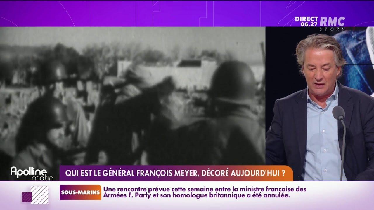 Le Général François Meyer sera décoré aujourd'hui