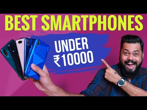 TOP 5 BEST MOBILE PHONES UNDER ₹10000 BUDGET ⚡⚡⚡ August 2019