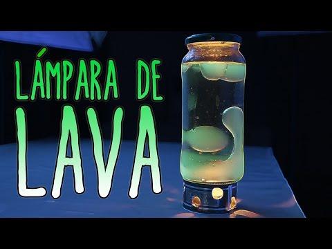 Cómo hacer una lámpara de lava (Experimentos Caseros)