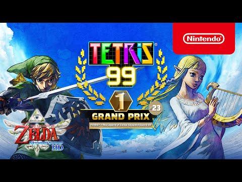 Tetris 99 : TETRIS 99 x The Legend of Zelda: Skyward Sword HD – Un Grand Prix céleste!