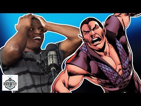 Aquaman VS Namor Sneak Peek   DEATH BATTLE Cast