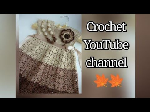 de05e3665 فستان بناتي من 2 ل 4 سنوات الجزء الثاني girl dress part 2 / قناة كروشيه  يوتيوب #كروشيه_يوتيوب - Crochet Youtube كروشية يوتيوب - imclips.net