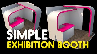 Making Exhibition Booth With Google Sketchup