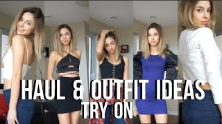 Mini Try On Haul   Bar Outfit Ideas Ft Tobi