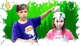 Что делать, Если ЗАБЛУДИЛСЯ в лесу   Смешные Лайфхаки Для Детей