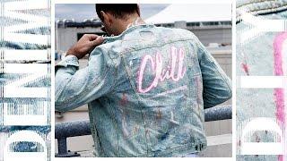DIY: Distressed Bleached Denim Jacket