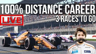 F1 2018 - 100% Distance Career Mode   Round 19: Mexico
