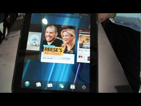HP TouchPad Accidentally Shown Off On Video