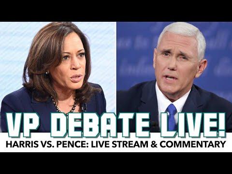 Kamala Harris vs. Mike Pence | VP Debate Live!