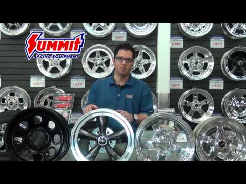 Aluminum Wheels - Steel Wheels - Billet Wheels - Wheel Construction - Summit Racing Quick Flicks