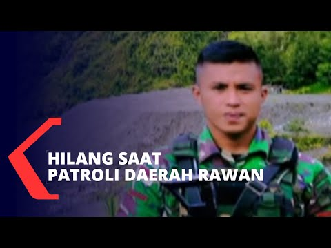 satu prajurit tni ad hilang saat patroli daerah rawan di mimika papua