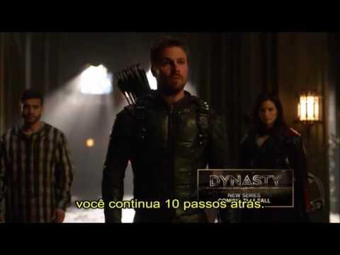 Arrow 5x23 - Time Arqueiro Vs Time Prometheus