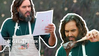 Russell Brand shocks the tent with his intimate Showstopper | The Great Stand Up To Cancer Bake Off