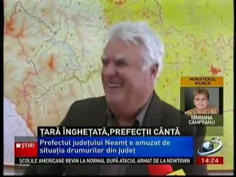 [VIDEO] Prefectul de Neamț, amenințat de ministrul Administrației și Internelor
