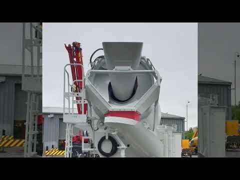 New MERCEDES / McPHEE 8/9m3 Standard Transit Concrete Mixer (2019)