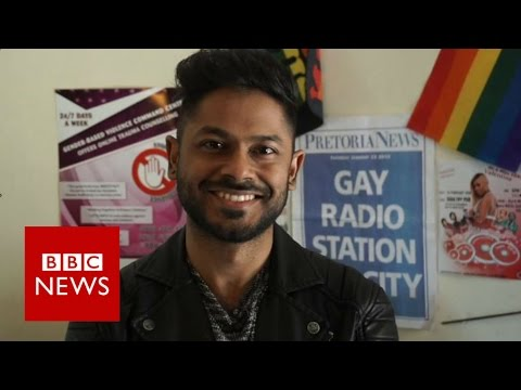 Inside Africa's only gay radio station - BBC News
