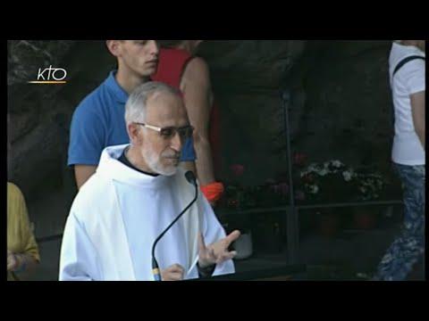 Chapelet à Lourdes du 8 août 2019