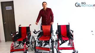 Comparación sillas de ruedas eléctrica de la linea económica
