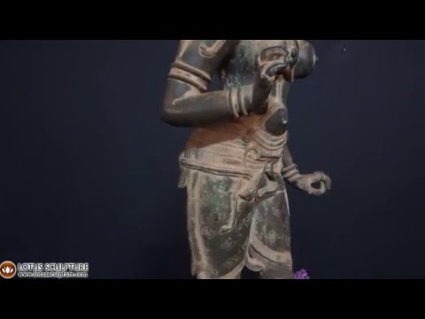Antique Bronze Parvati as Shivakami Statue 30