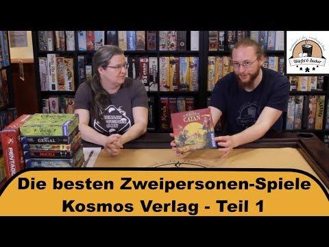 Die besten Zweipersonenspiele - Kosmos Teil 1