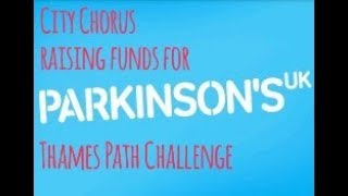 Walking the Thames Path for Parkinsons UK