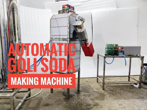 Goli Soda Machine