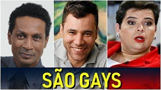 HUMORISTAS QUE SE ASSUMIRAM GAYS