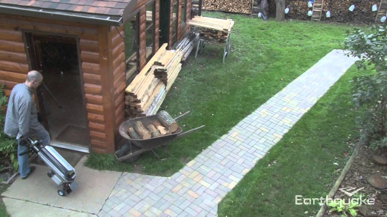 See the W1200 5-Ton Electric Log Splitter in action