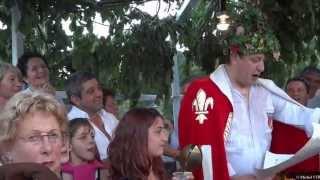 preview picture of video 'Saint Léonard de Noblat, fête de la Saint Martial 2013, le discours du Roi.'
