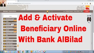 How To Activate Aljazira Bank card and create online user id