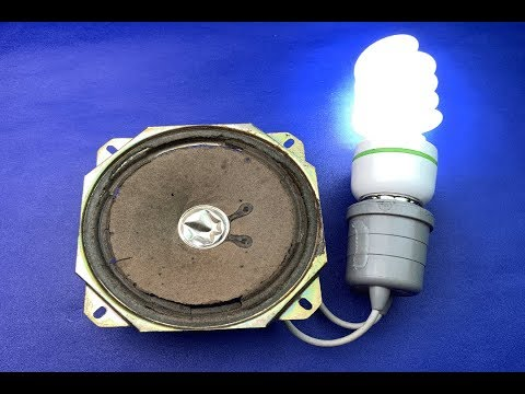Free Energy 100% Generator With Speaker Magnet New Technology 2019