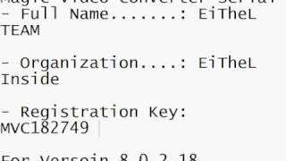 Faasoft video converter registration key