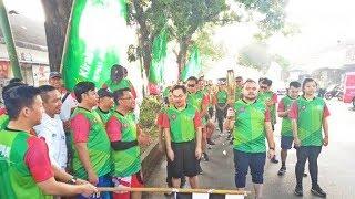 Kirab Api Cinta Puluhan Peserta Telusuri Jalanan Solo Hasil Kinerja Jokowi