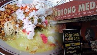 Menyantap Kelezatan Lontong Medan Kak Zahra, Seporsi Cuma Rp 9.000
