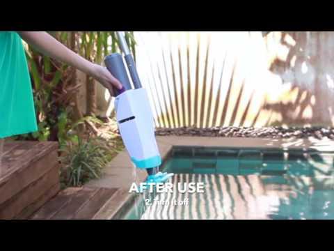 Ручной пылесоc для бассейна Kokido Telsa 15 Video #1