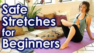 How To Stretch for Beginners, Safe Stretches for Full Body Yoga, Back & Leg Pain Relief, Sciatica by PsycheTruth