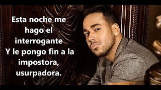 Romeo Santos   Imitadora Lyrics