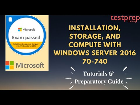 How to prepare for Exam 70-740: Windows Server 2016 ? - YouTube
