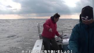 海楽隊・東野船長による電動ジギング