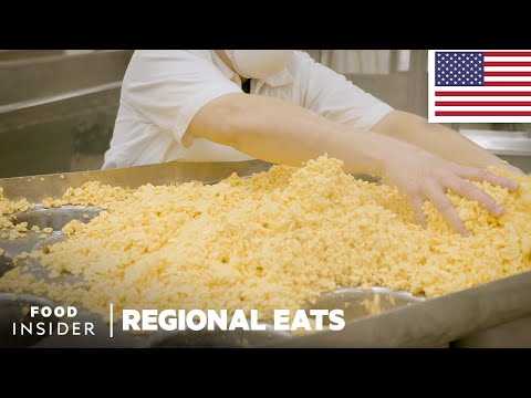 Making Colby Cheese in Wisconsin