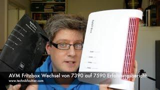 AVM Fritzbox Wechsel von 7390 auf 7590 Erfahrungsbericht