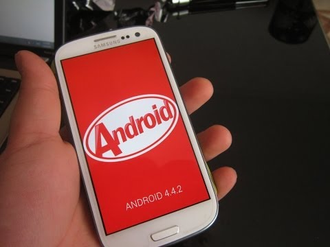 comment installer android 4.4 sur galaxy s3