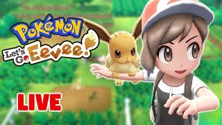 LET'S TALK Pokemon Sword and Shield While Trying to Catch all Pokemon in Pokemon Let's Go!